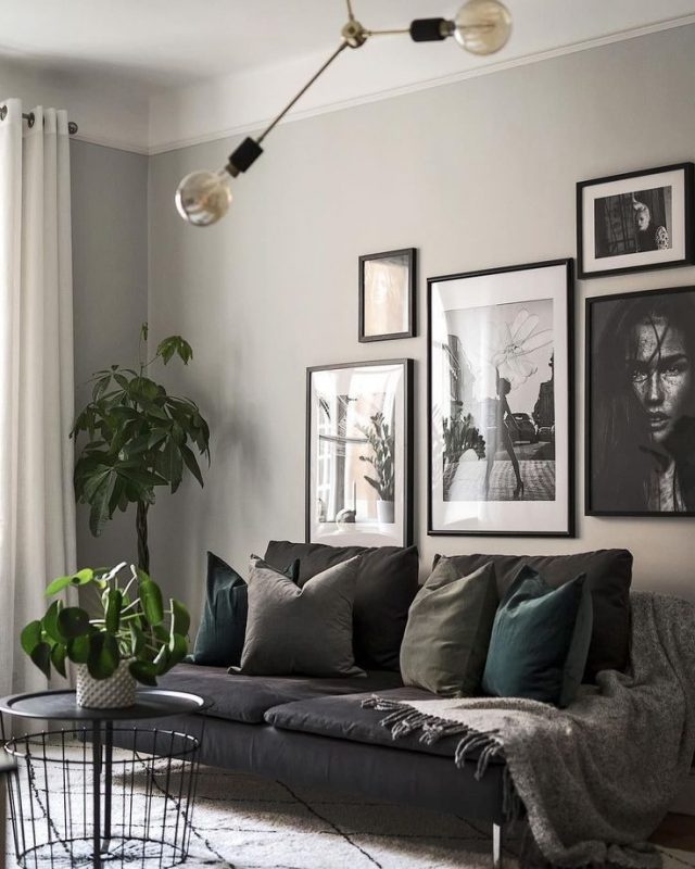 Small Apartment Living: 9 Dreamy Small Grey Living Rooms That Will Inspire You