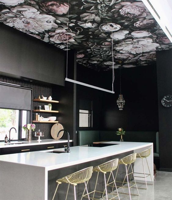 6 Ceiling Wallpaper Ideas For Every Room Daily Dream Decor