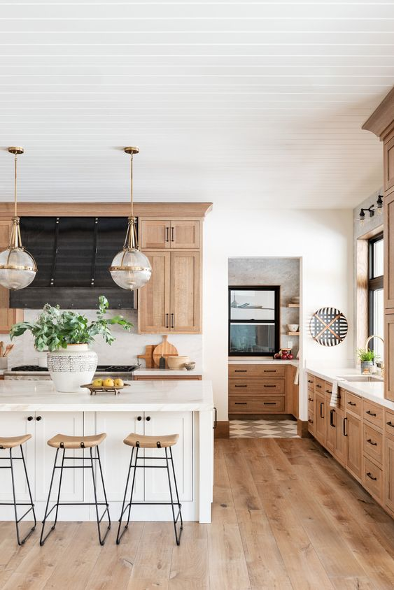 5 Gorgeous Natural Wood Kitchen Designs We Love Daily Dream Decor
