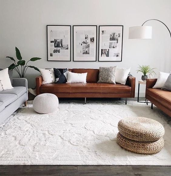 5 Ways To Decorate With A Brown Sofa Daily Dream Decor
