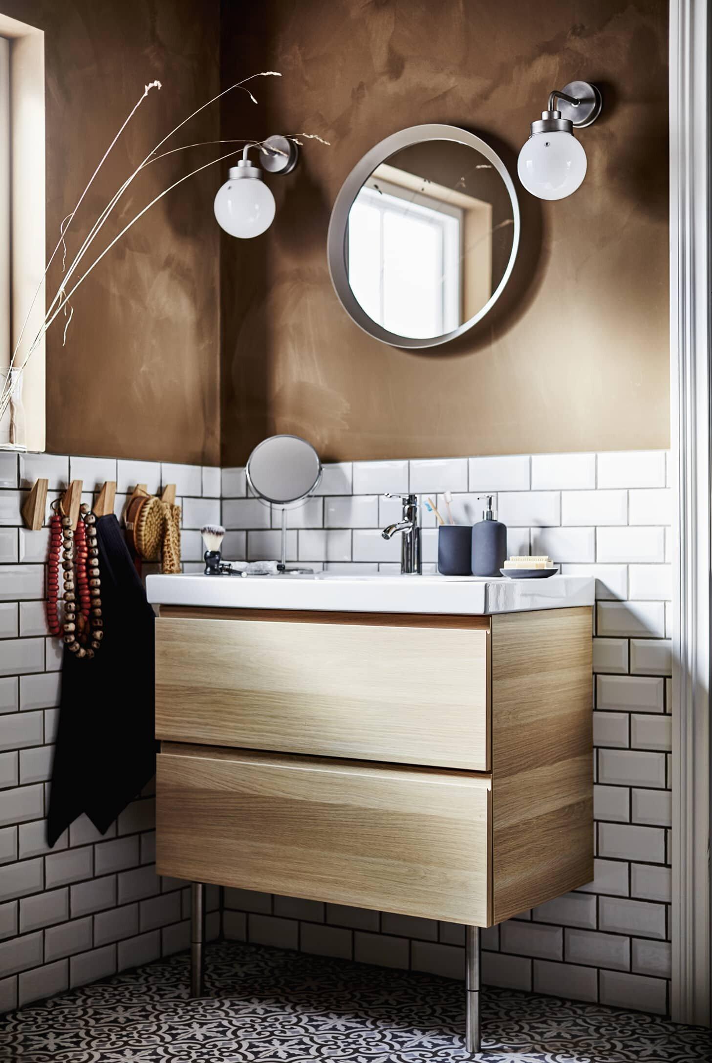 Calm Bathrooms From Ikea 2021 Catalogue, Ikea Bathroom Sets