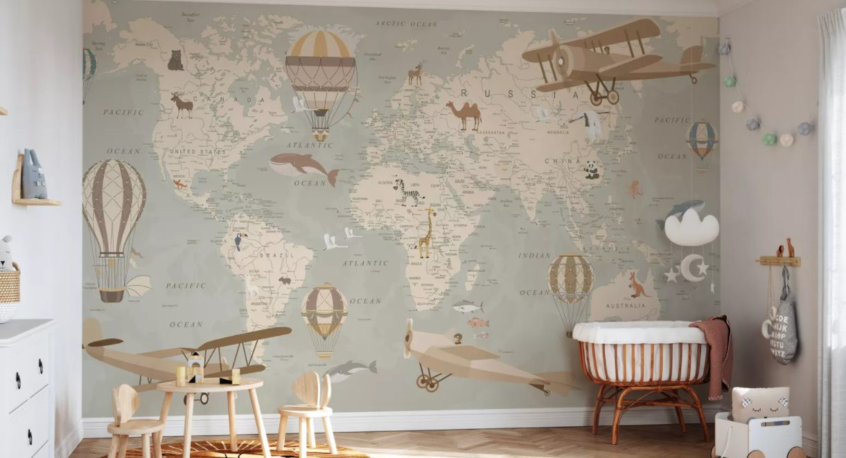 5 Dreamy ways to use custom wallpaper in your home