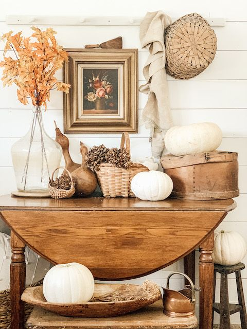 7 Dreamy ways to decorate your home with fall leaves
