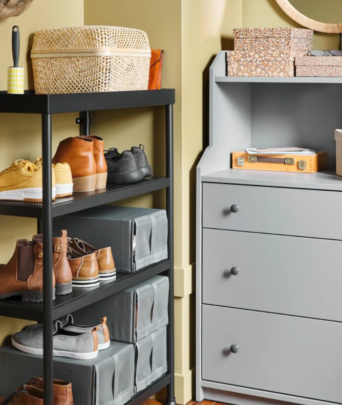 5 New and practical IKEA hallways and storage solutions